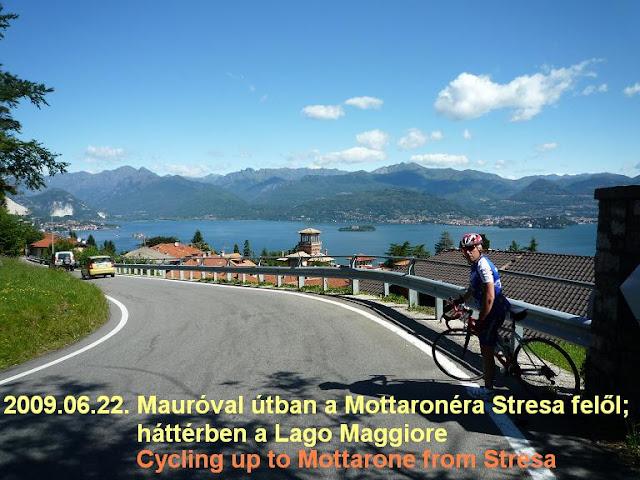Mottarone from Stresa