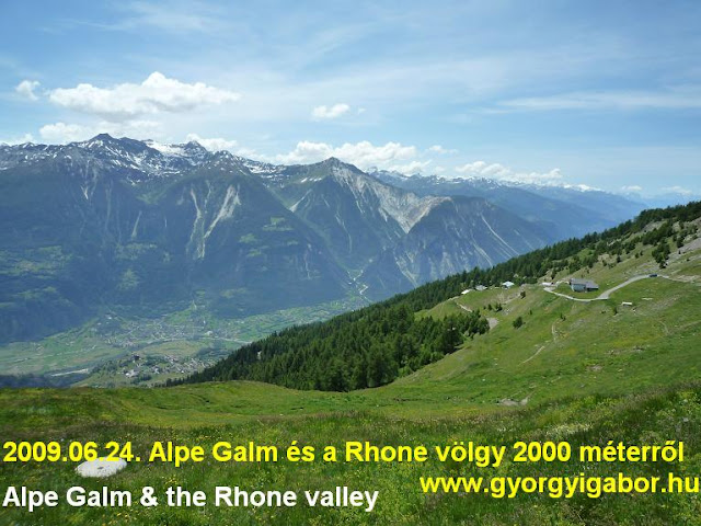 Alpe Galm ascent