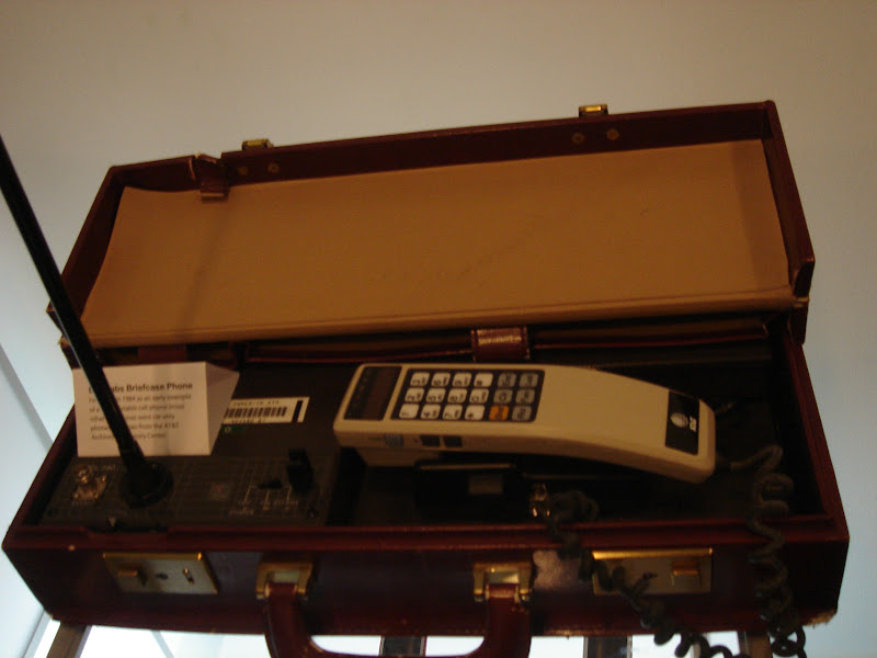 "First ""mobile\"" phone"