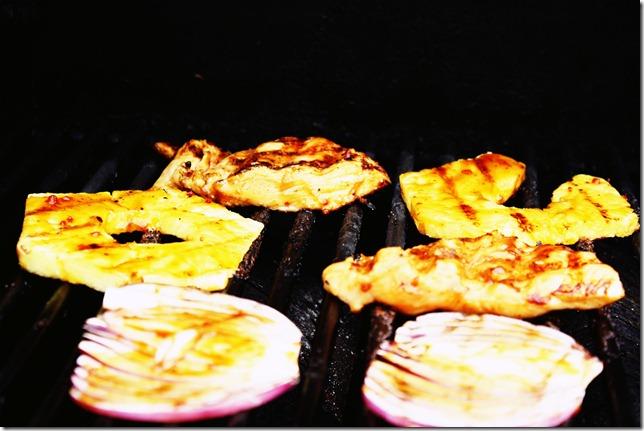 Hawaiian Chicken Burgers 4