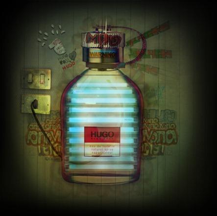 frasco de perfume charles baudelaire