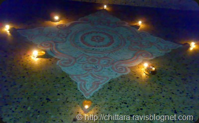 Rangoli_Red_Deepam_4