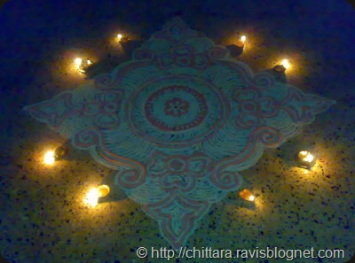 Rangoli_Red_Deepam_6
