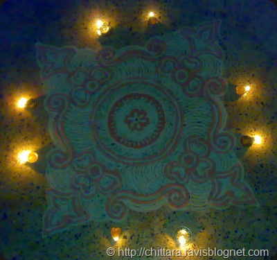 Rangoli_Red_Deepam_8