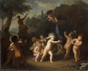 RIJKS: Hendrik van Limborch: painting 1720