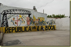 La Boca Football Pitch