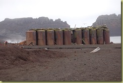 Tanks with volcanic steam