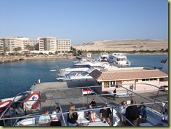 Mooring at Hurghada