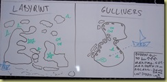 Labarynth and Gullivers Dive Plan