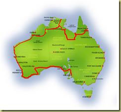 Australia Map Adelaide