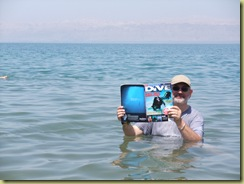 Dive in the Dead Sea