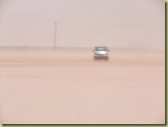 Dust in Desert