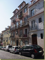 Buildings - balconys and cobbles