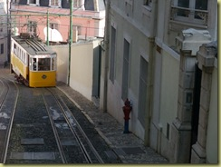 Funicular on Hill