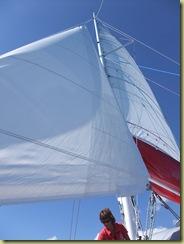 Proceeding under Sail