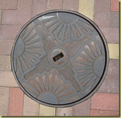 Manhole Cover Art Deco