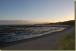 Farewell Bay at dusk Right