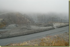 Fog in mine
