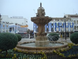 Fuente Plaza Valdepeñas