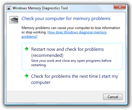 windowsmemorydiagnostic