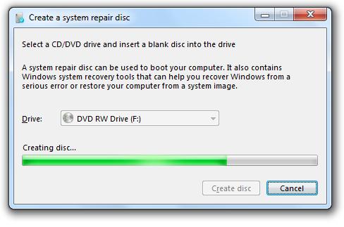 creatingsystemrepairdisk
