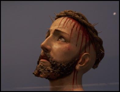 Jesus statue by Jesuits