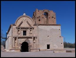 Mission San Xavier del Bac, Tumaca'cori, AZ