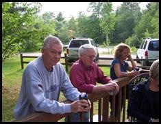 Den, Fluff and Brenda at cabin 12