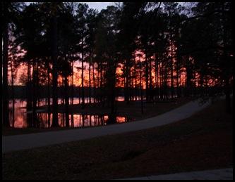 Sunset at Clear Springs, Texarkana