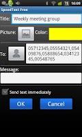 Screenshot of SpeedText  Free