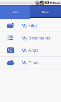 Screenshot of CloudPro File Manager