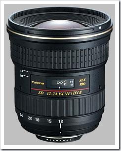 Tokina 12-24mm f4.0 ATX Pro DX Zoom Lens