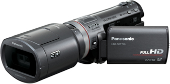 The Panasonic HDC-SDT750 camcorder