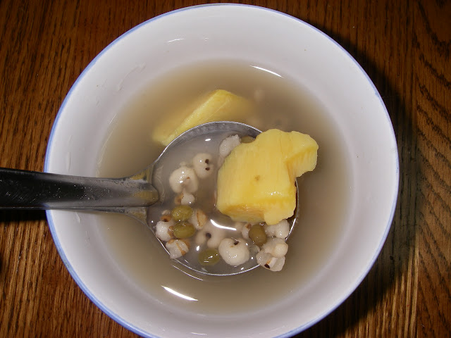 綠豆薏仁番薯湯