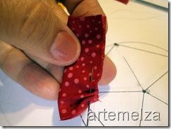 artemelza - flor aberta de patchwork
