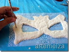 artemelza - como fazer papel mache