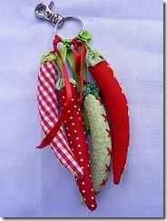 chaveiro pimentas