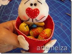 artemelza - coelho de páscoa