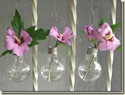 artesanato com lampada