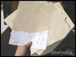 Artemelza - como envelhecer papel