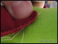 artemelza - cruz de feltro