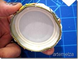 artemelza- reciclando potes de vidro