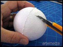 artemelza - bola de natal