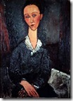 437px-Modigliani_-_portrait_woman_white_collar