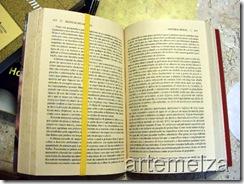 artemelza - marcador de livro