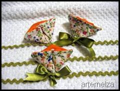 artemelza - flor de fuxico hexagonal