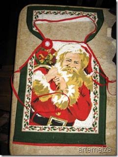 artemelza - avental de natal