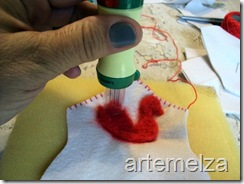 artemelza - cestinha de feltro-1
