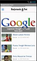 Screenshot of Banjarmasin Post
