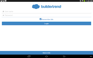 Screenshot of BuilderTREND